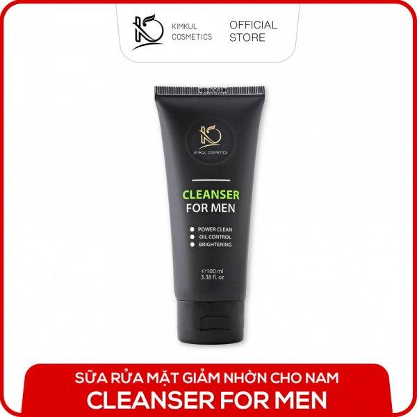 8938533074002 Sữa rửa mặt cho Nam KimKul Cleanser For Man 100ML - Sữa rửa mặt ngừa mụn, kháng khuẩn, dưỡng da ẩm đàn hồi